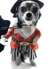 Spooky Village Pirate Pet Costume Size XS Cute And Adorable