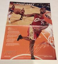 LeBron James Cleveland Cavaliers 2005 SI For Kids Poster A184