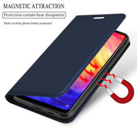 For Xiaomi Redmi Note 8 7 6 5 Pro Magnetic Leather Case Flip Wallet Card Cover