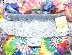 Womens Thong Skong  Bonnie Blue Lacey. Size 5 Or 7. New