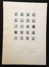 Wolf Kahlen, Angleichung V, Offsetdruck, 1974, handsigniert und datiert