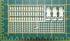 Warhammer 40,000 Iron Hands Space Marine Chapter & Squad Symbols Brass Etch