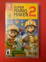 NEW & Retail Sealed: Super Mario Maker 2 for Nintendo Switch (2019)