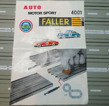 Faller Ams Original Booklet for Complete Package