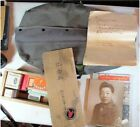 WWII 442ND MEDIC JAPANESE AMERICAN GO FOR BROKE BAG BOX MEDICINE PATCH MAP