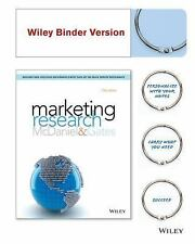 Marketing Research by Carl McDaniel and Roger Gates (2014, Ringbound)