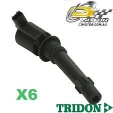TRIDON IGNITION COIL x6 FOR Ford  Falcon - 6 Cyl BF 10/05-10/06, 6, 4.0L E-GAS