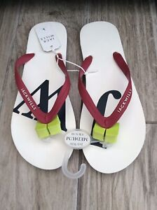 Jack Wills Flip Flops Mens Size 7-8 New With Tags