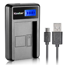 Kastar EN-EL12 battery charger for Nikon S1100pj S1200pj P340 S31 AW100s S1000pj