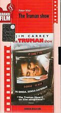 VHS FILM CORRIERE videocassetta THE TRUMAN SHOW di PETER WEIR nuova italiano