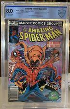 The Amazing Spider-Man #238 CBCS 8.0 Tattooz Missing