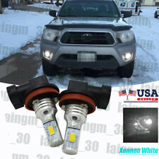 Cooling Xenon White Aluminum Led Fog Light Replace For Toyota Tacoma 2008-2011
