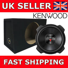 "Kenwood KFC-PS2516W 10"" Subwoofer with 10"" Bass Box Enclosure Car Van Sub Box"