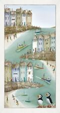 Rebecca Lardner High and Dry II Framed Limited Edition Box Canvas