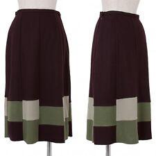 Jocomomola Wool Knit Skirt Size 40(K-45434)