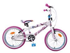 """Kent Twister 18"""" Wheel Bmx Girls Kids Bike Pretty Pink/White/Blue Bicycle Age 6+"""