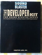 THE DEVELOPER KIT for SOUND BLASTER SERIES (BOX). Manuali + dischetti