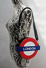 London Underground Purse Subway Logo Sign Shoulder Crossbody Bag Handbag Zipper