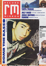 BOMB THE BASS / IRON MAIDEN / TANITA TIKARIMRecord Mirror  15Nov1988