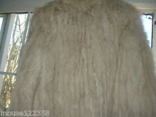 Saga Fox Fur Jacket Coat sz med