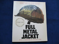FULL METAL JACKET Stanley Kubrick SIGNED SCREENPLAY 1ST