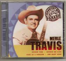 """MERLE TRAVIS, CD """"COUNTRY HIT PARADE"""" NEW SEALED"""