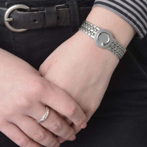 Bioflow Magnetic Bracelet - LADIES ELITE (stainless steel) - Natural Healing!