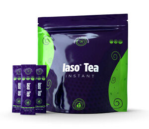 New IASO Instant Herbal Detox Tea - Sachets Samples Total Life Changes TLC
