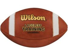 Wilson Laceless Training Football Official Sz Leather Practice Trainer Wtf1240Ib
