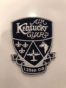 USAF/ANG  123d Operations Group C-130 Patch