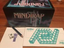 Vintage Mind Trap puzzle Card Game. 1991 Slightly Used In Box