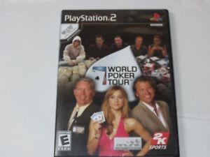 World Poker Tour Sony PlayStation 2 PS2 2005 E-Everyone Casino & Cards