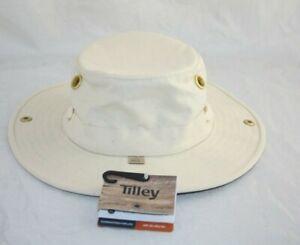 TILLEY ENDURABLE THE AUTHENTIC  HAT NTGR 7 1/8 KHAKI/OLIVE