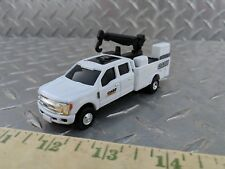 1/64 CUSTOM farm toy Ford f350 case construction service pickup truck s scale ih