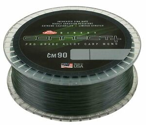 Berkley Connect + CM90 Weed Green Mono Line Mainline 1200m - All Sizes