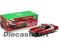 1976 FORD GRAN TORINO STARSKY AND HUTCH RED CHROME EDITION 1:18 GREENLIGHT 19023