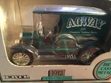 AGWAY 1912 OPEN CAB BANK – ERTL #7615 #2902 Die-Cast Metal 1/25 Scale new In box
