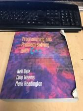 Programming And Problem Solving With C++ by Nell Dale
