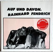 """12"""" Vinyl RAINHARD FENDRICH - Auf und davon"""