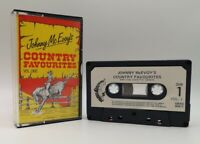 Johnny McEvoy's Country Favourites Audio Music Tape Cassette FREE Postage