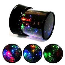 Sternenhimmel Projektor LED Leuchtprogramme Nachtischlampe Nachtlicht Xmas Baby