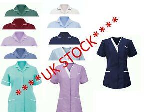 Nurses Healthcare Tunic Hospitality Carers Therapist Dentist Uniform 80° WASH