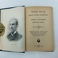 SIGNED The Gun and the Gospel HD Fisher, 1896, Early Kansas, 1st FIRST EDITION