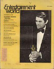 DEC 30 1969 ENTERTAINMENT WORLD vintage movie magazine - OSCARS