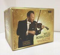 WILLI BOSKOVSKY Complete DECCA Recordings Master Waltz 50x CD Box Set 2018
