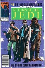 1983 STAR WARS Return Of The Jedi Vol. 1 #3 Marvel Comic