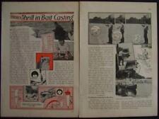 Bait Casting vintage plug FISHING LURE 1932 How-To PLANS