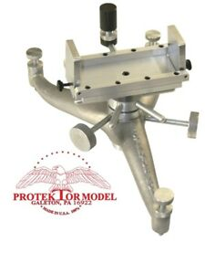 PROTEKTOR MODEL NEW CAST ALUMINUM LONG RANGE MECHANICAL SHOOTING REST BENCHREST