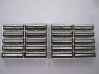 20  TWIN BLADE CLIP-ON CARTRIDGE RAZOR  BLADES FOR GILLETTE CONTOUR/VECTOR/ATRA