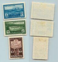 Romania 1932 SC B37-B39 mint. f9791